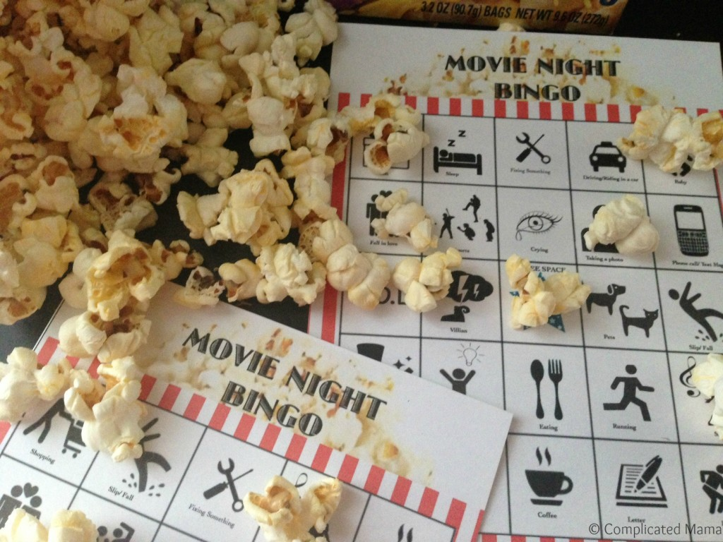 Movie night, meet game night