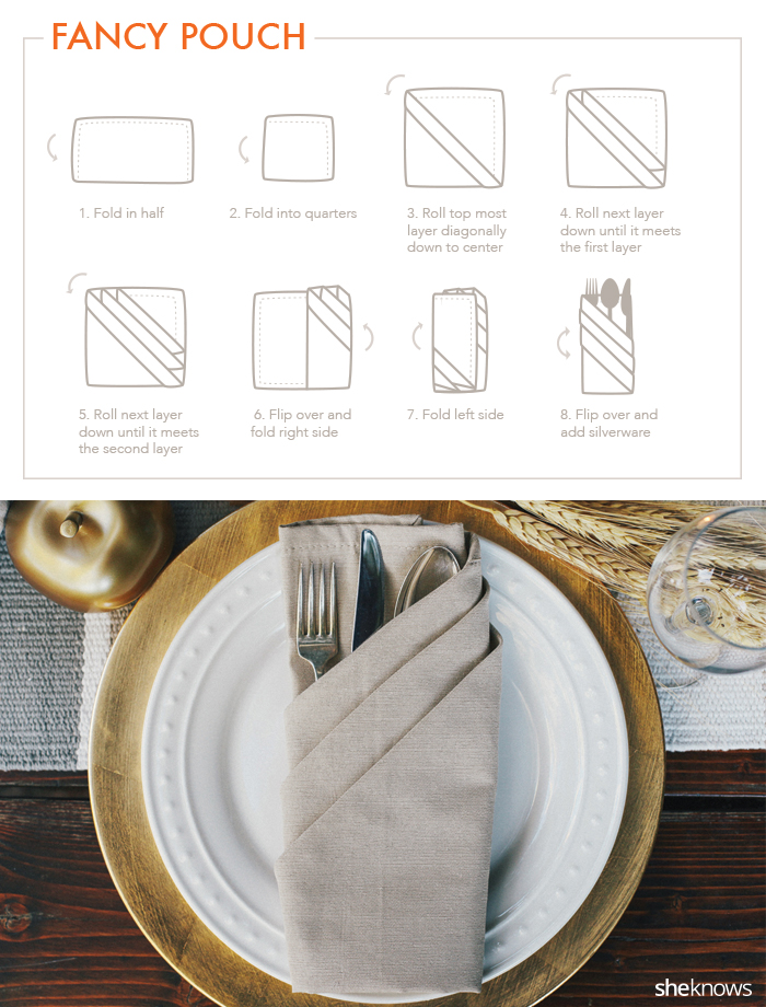 9 creative napkin folds for every type of hostess tutorial sheknows