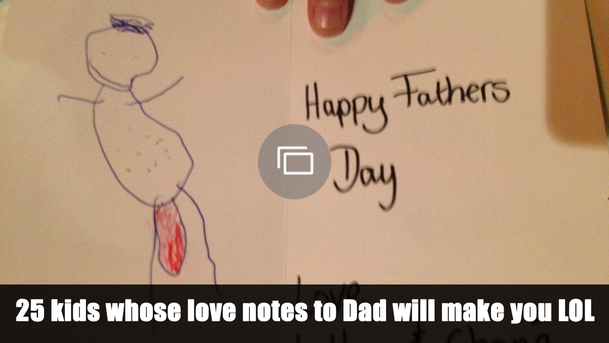 notes to dad