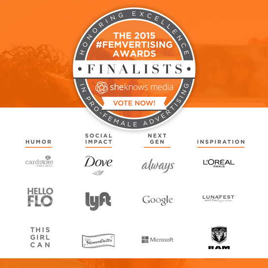 2015 Femvertising awards