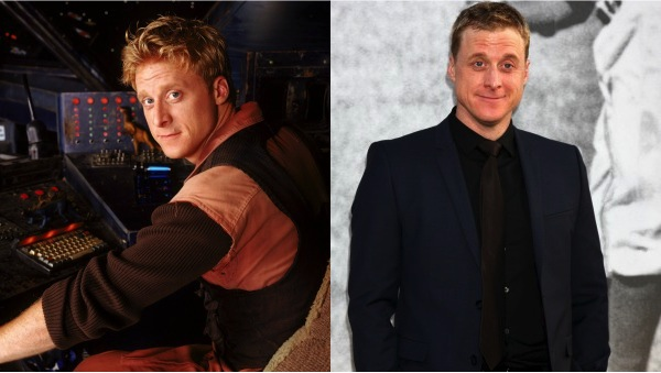 Alan Tudyk then and now