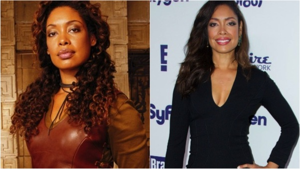 Gina Torres then and now