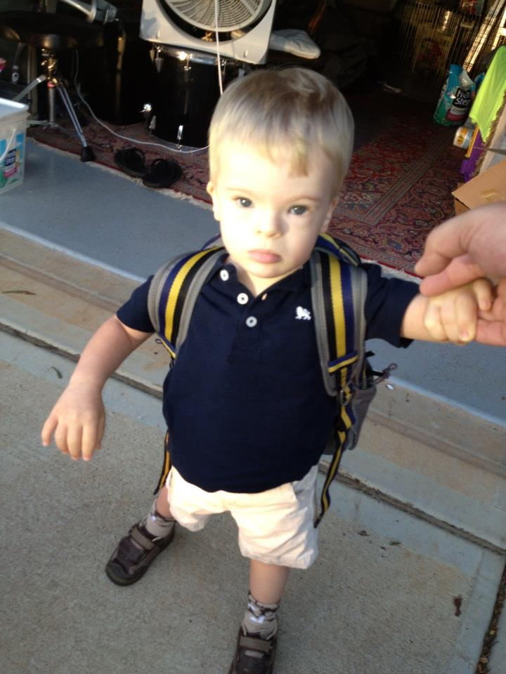 Charlie's first day of preschool | Sheknows.com