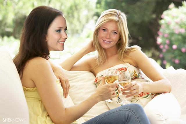 Gwyneth Paltrow and Jennifer Lawrence
