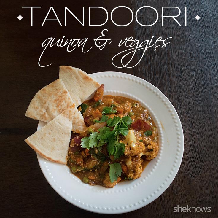 Tandoori quinoa and veggies
