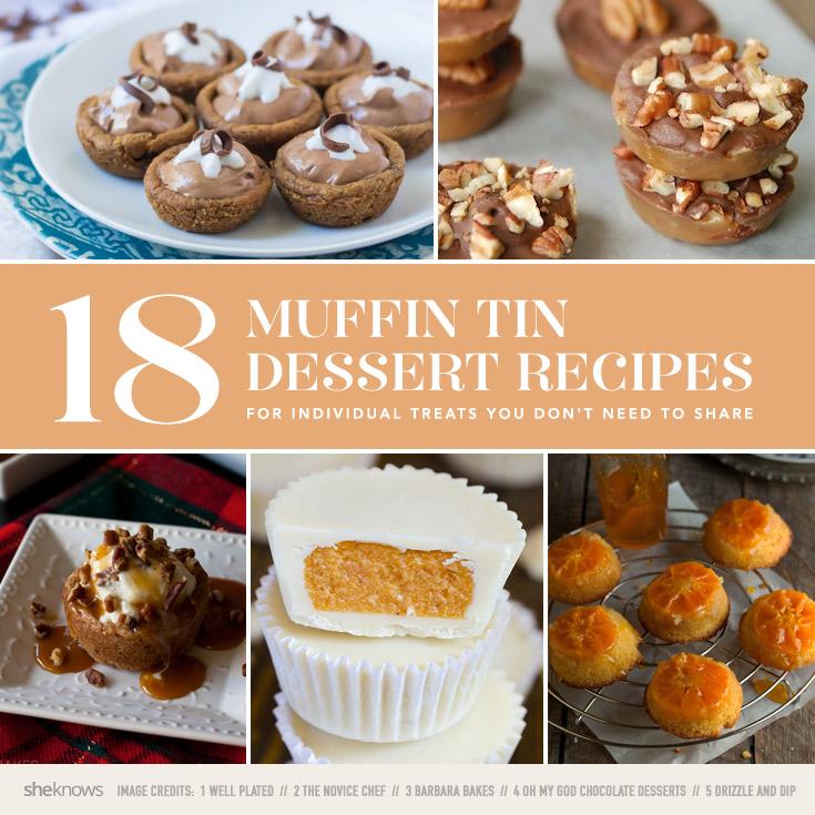 18 Muffin tin dessert recipes, because mini treats are always more fun