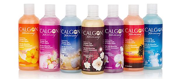 Calgon® Moisturizing Shower Gel & Foam Bath