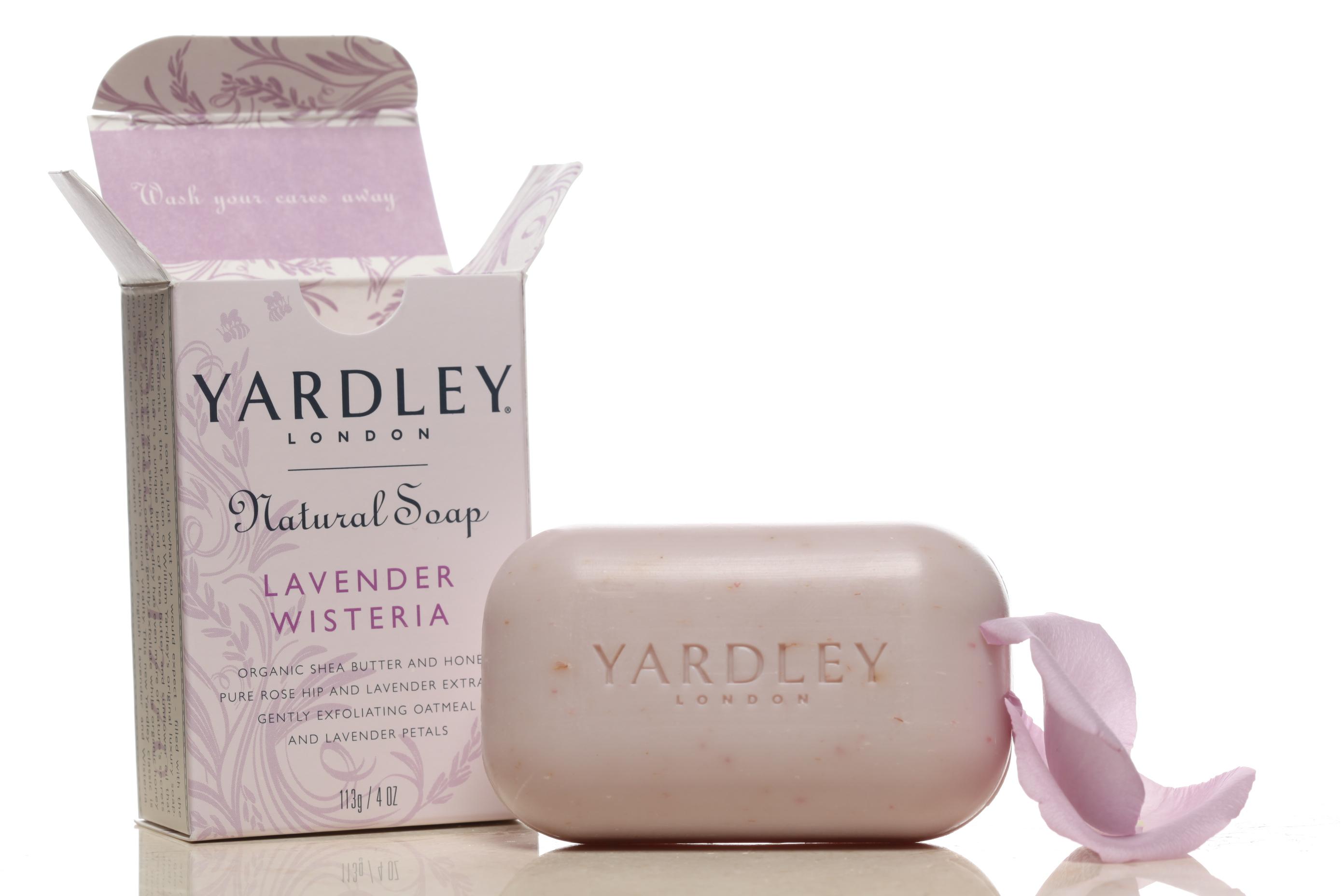 Yardley if London Botanical and Natural Soaps