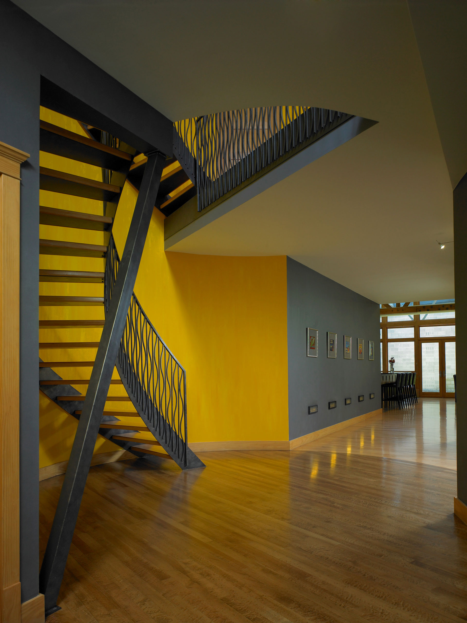 The soda pop factory staircase