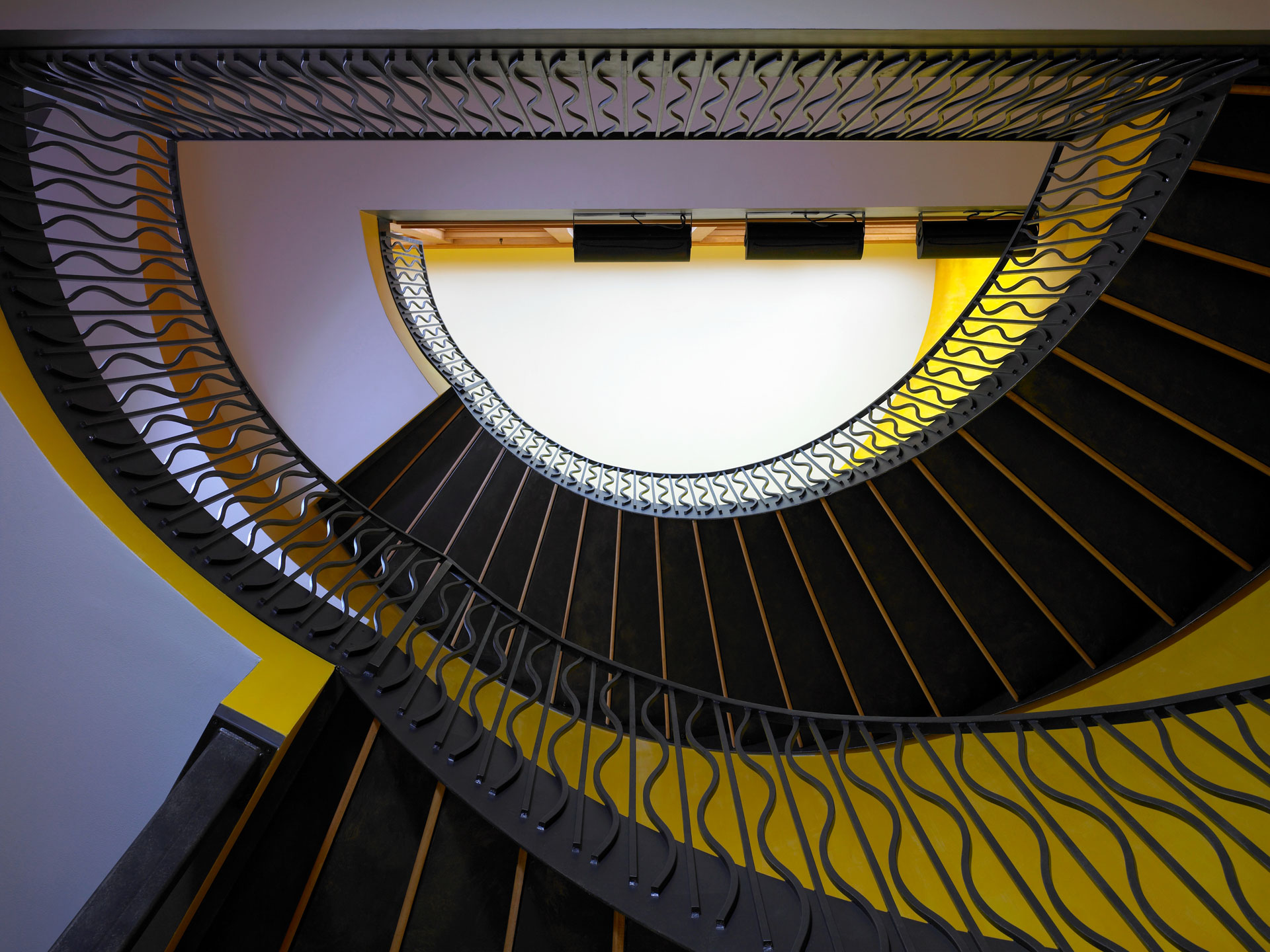 The soda pop factory staircase 2