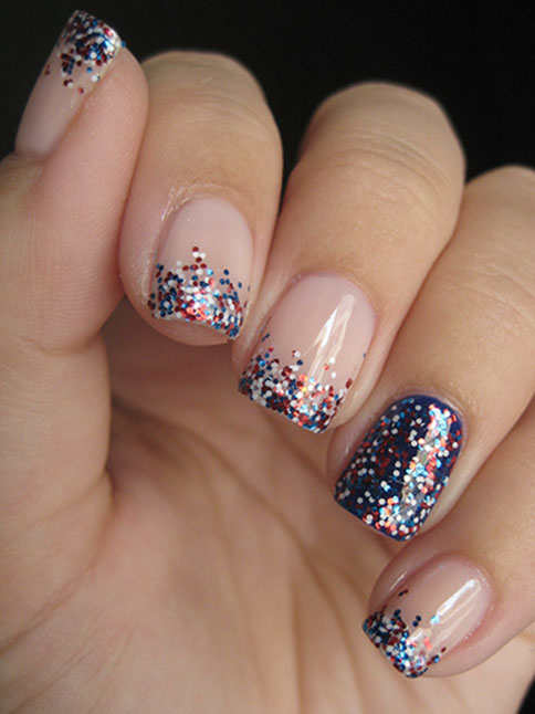 Fourth of July nail designs - Patriotic Fourth Of July Nail Designs – SheKnows