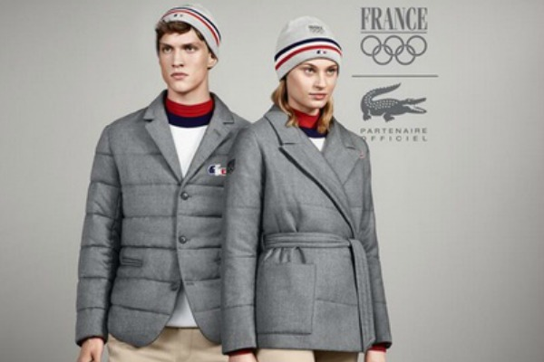 France's Sochi Winter Olympic Games uniforms