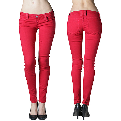tropical skinny jeans