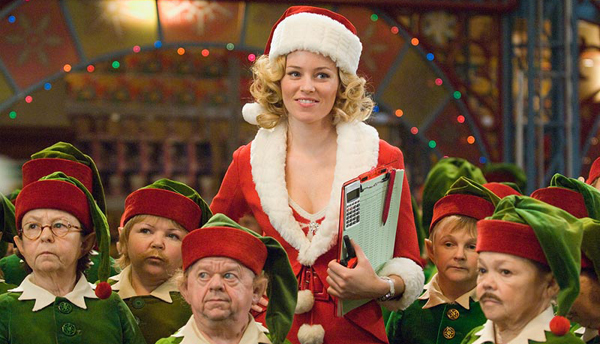 Elizabeth Banks charms in Fred Claus
