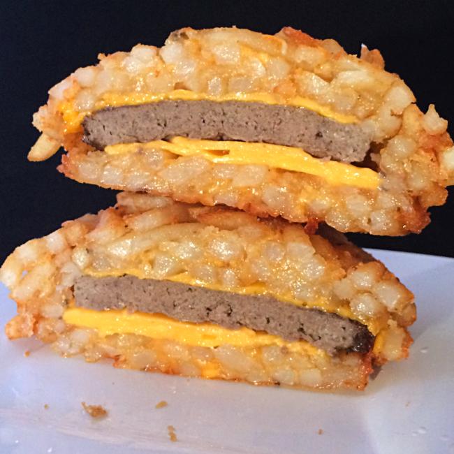 French fry burger bomb vulgar chef recipe