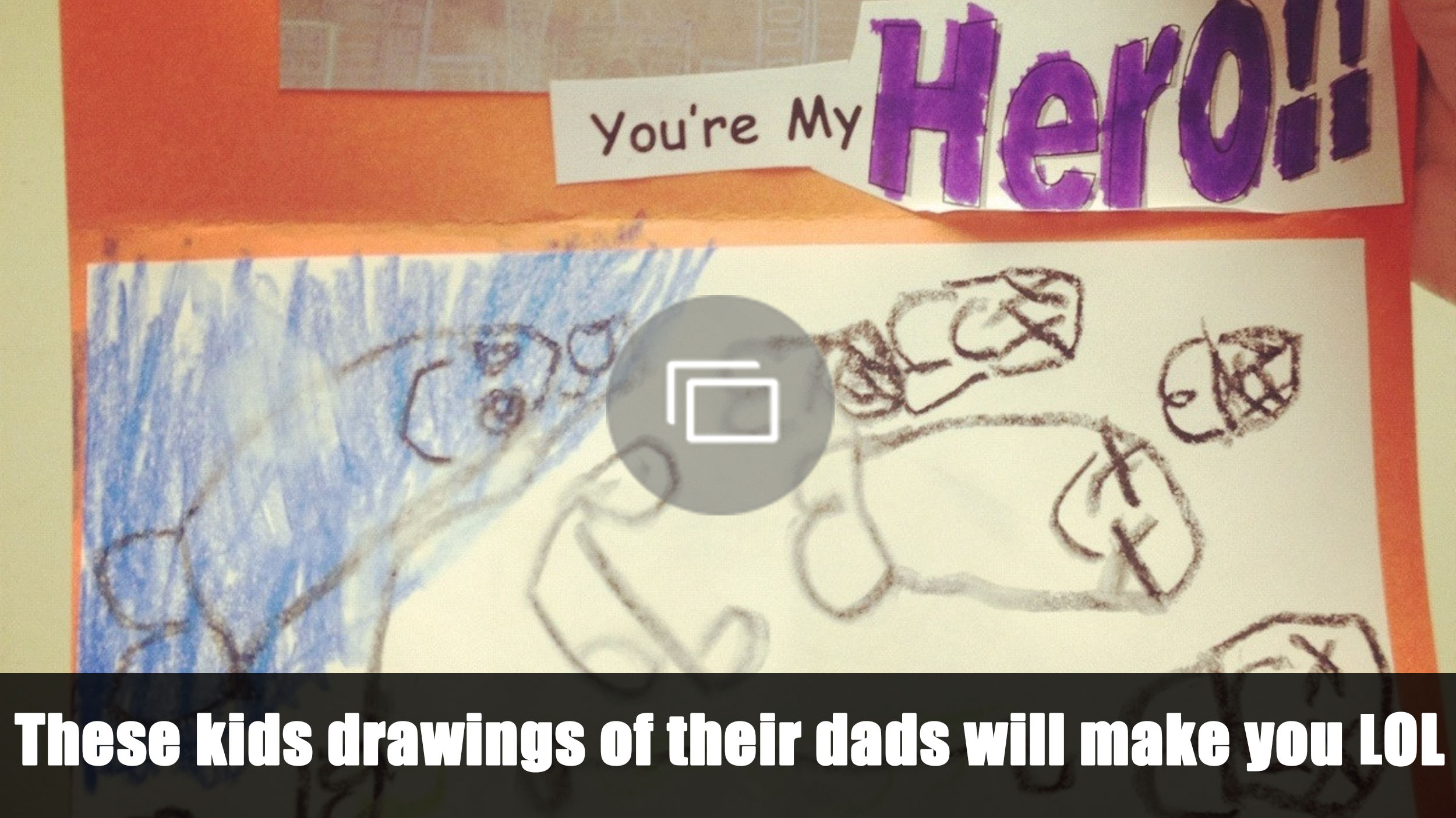 funny drawings dad