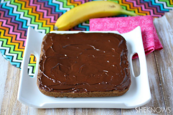 Gluten-free Goodie of the Week: Frosted banana, hazelnut, and coco squares