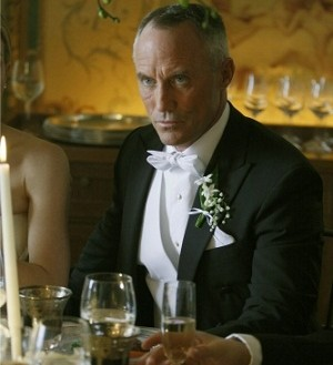 Bart Bass at his wedding to Lily
