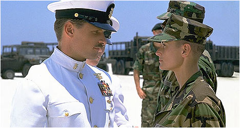 Ridley's GI Jane was a monster hit for Demi Moore and a young Viggo