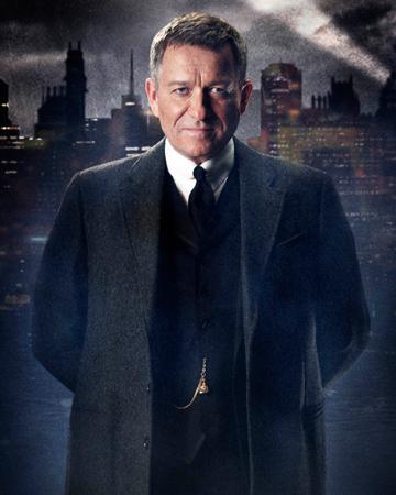 Alfred Pennyworth-played by Sean Pertwee