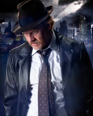 Harvey Bullock-played by Donal Logue