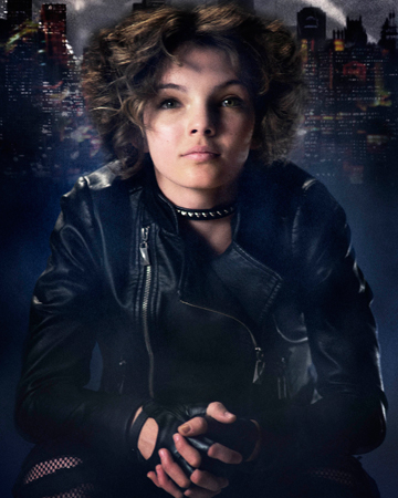 Selina Kyle aka Catwoman-played by Camren Bicondova