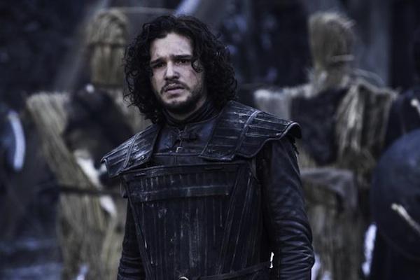 Jon Snow in Season 4 of Game of Thrones