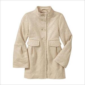 Sequin embleshed coat