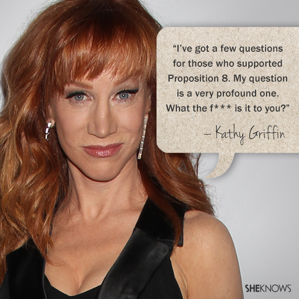 10 Celebrities Who Stand Up For Gay Marriage Sheknows