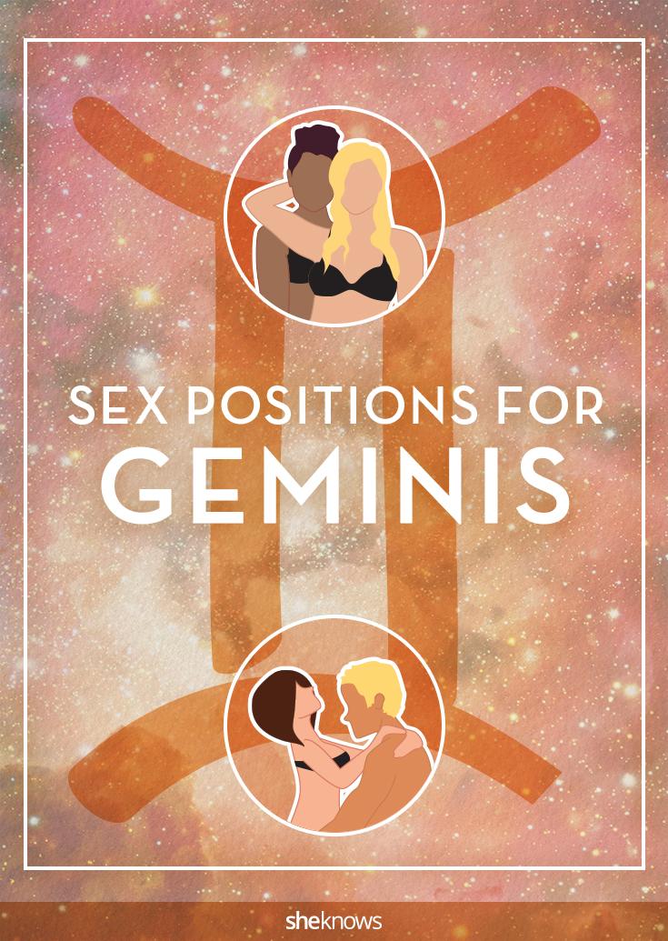 Gemini sex positions