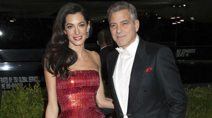George & Amal Clooney take big