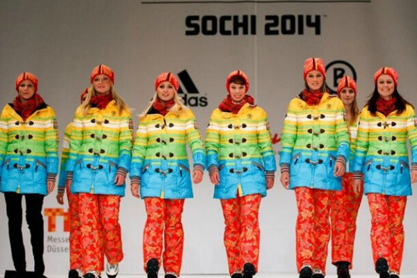 Germany's Sochi Winter Olympic Games uniforms