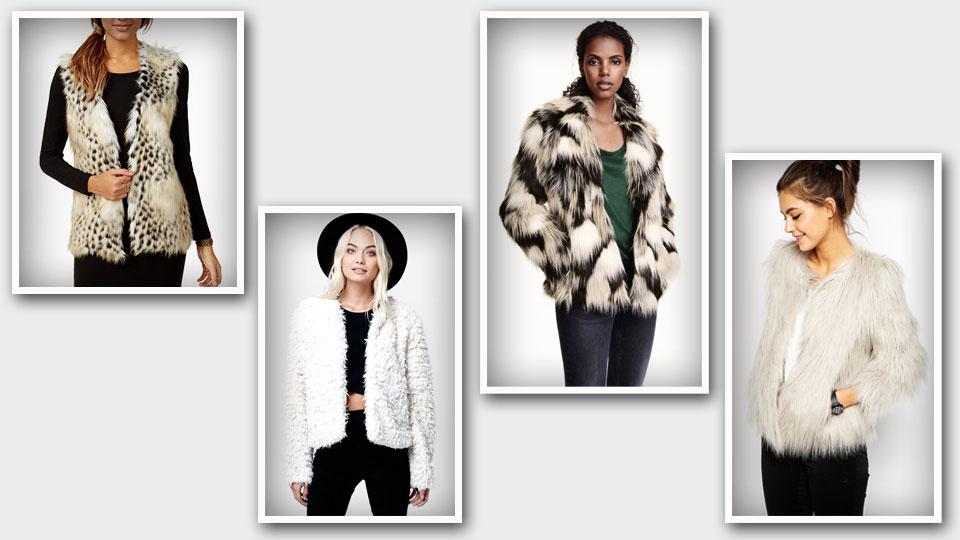 Get fierce with (faux) fur