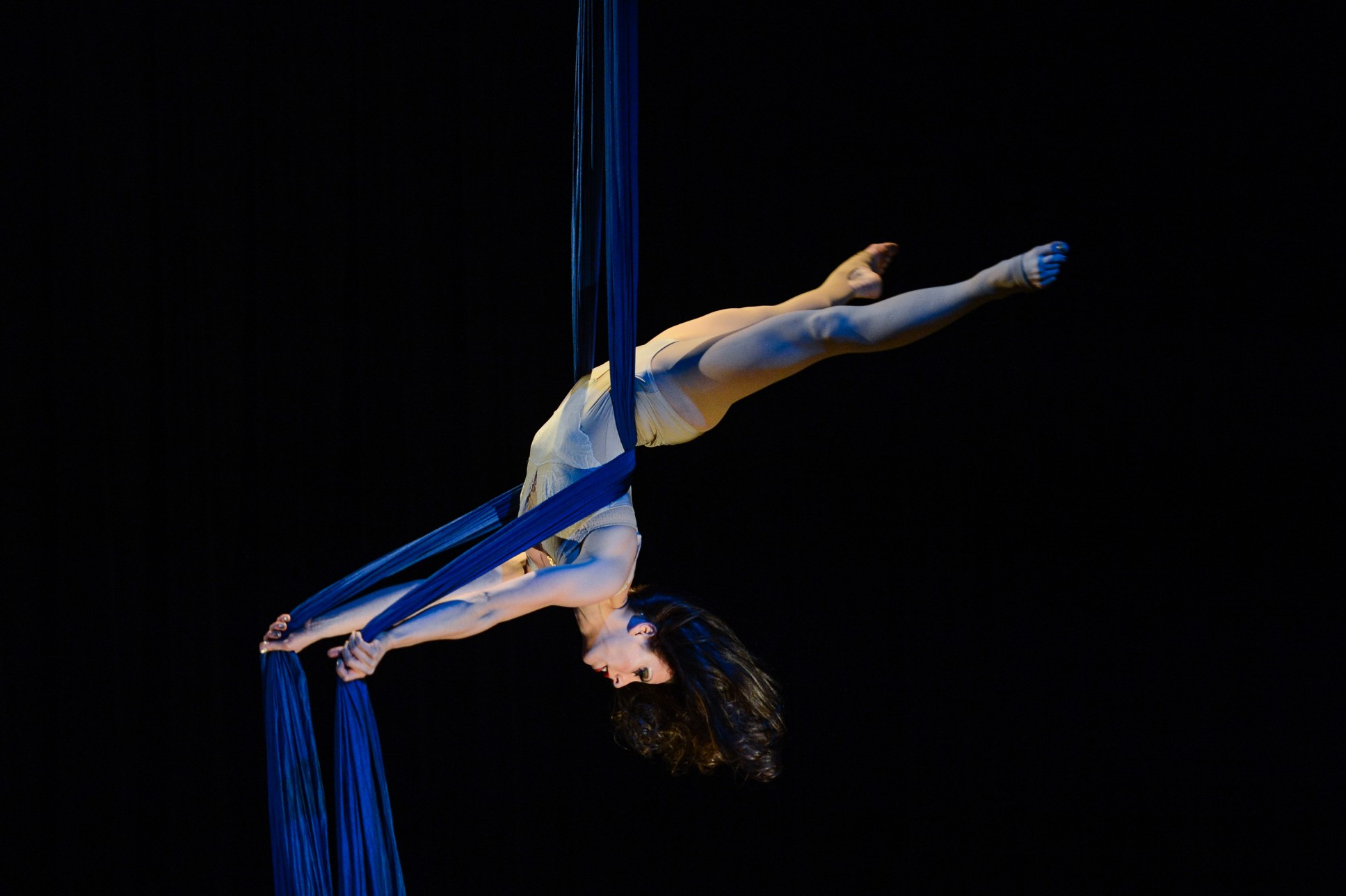 woman on aerials