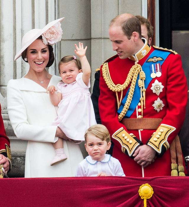 Princess Charlotte at Trooping the Colour 2016