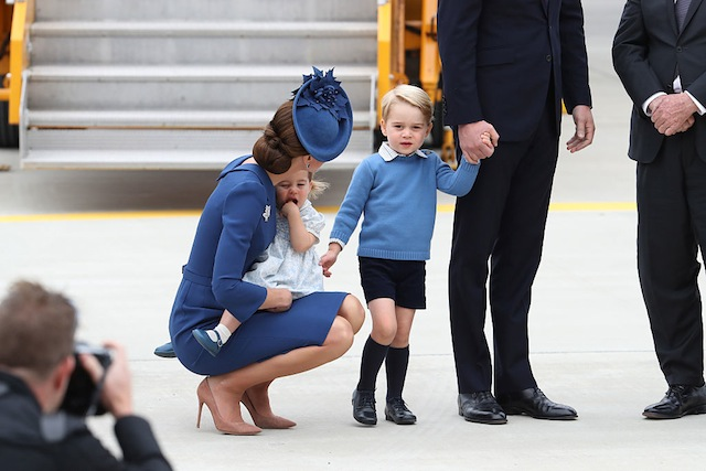Kate Middleton practises active listening parenting in Canada