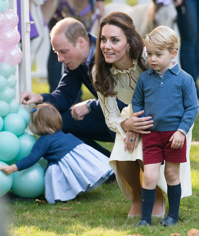 Princess Charlotte and Prince George Canadian play date