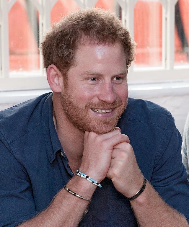 Prince Harry Meghan Markle matching bracelets