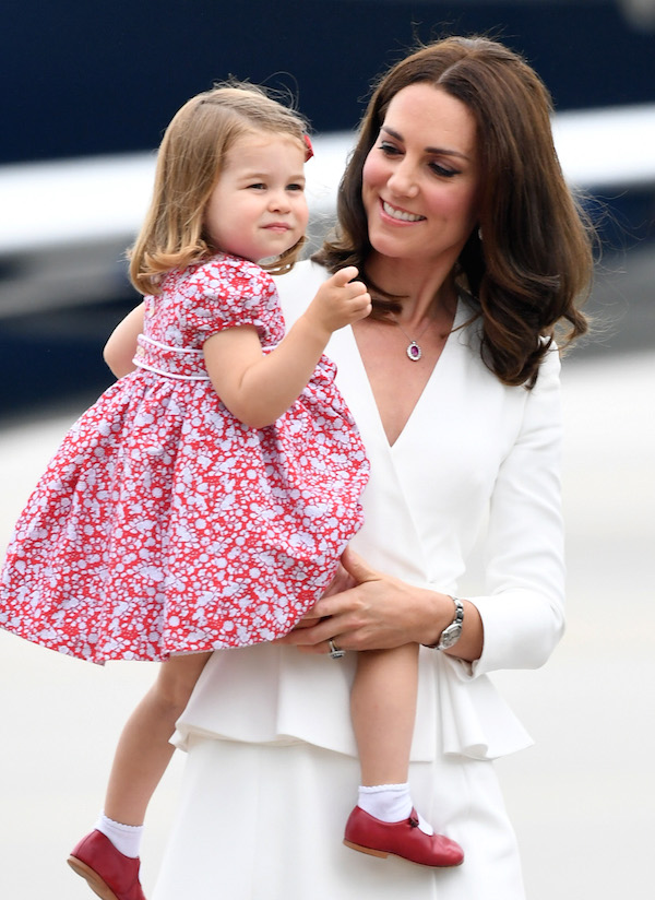 Prince George and Princess Charlotte are on the royal trip to Poland.