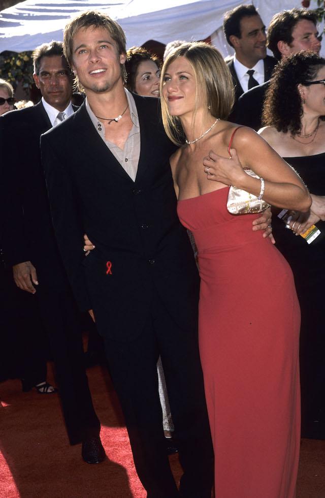 Pitt and Aniston Emmys 2000