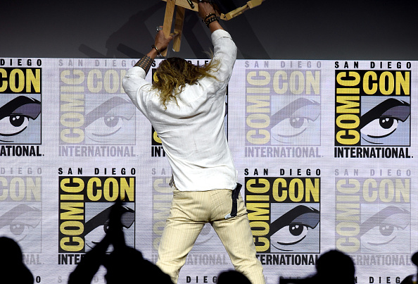 Jason Momoa at SDCC