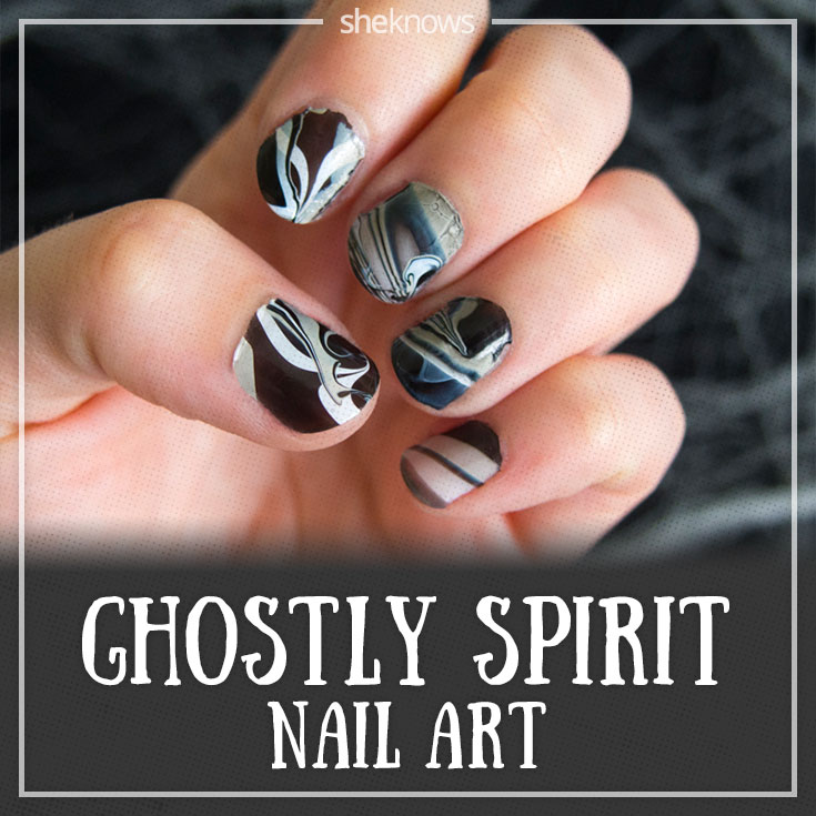 Ghostly spirit nails