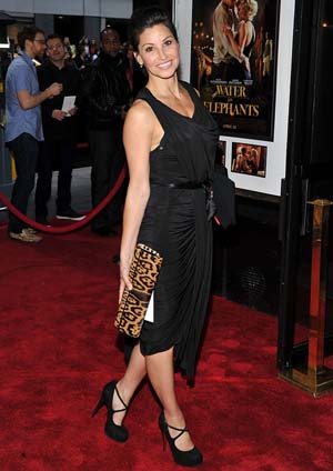 Gina Gershon at the Water for Elephants premiere