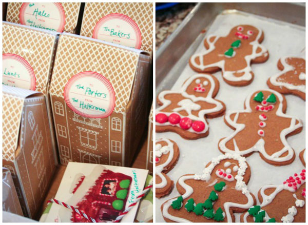 Personalized Gingerbread Families