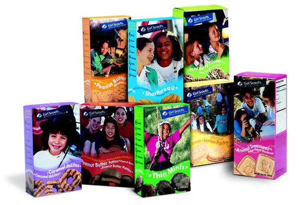 Girl Scouts cookies reduced to six varieties