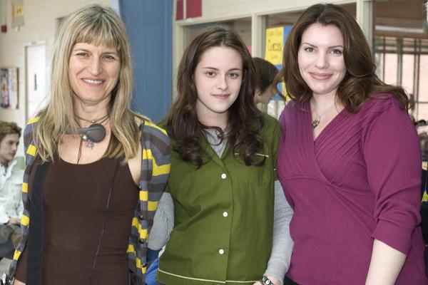 Catherine Hardwicke, Kristen Stewart and Stephenie Meyer