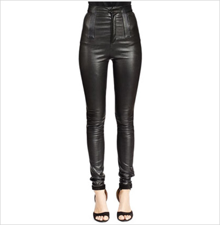Givenchy High-Waist Skinny Leather Trousers