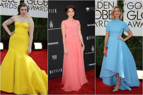 Fashion at the Golden Globe Awards