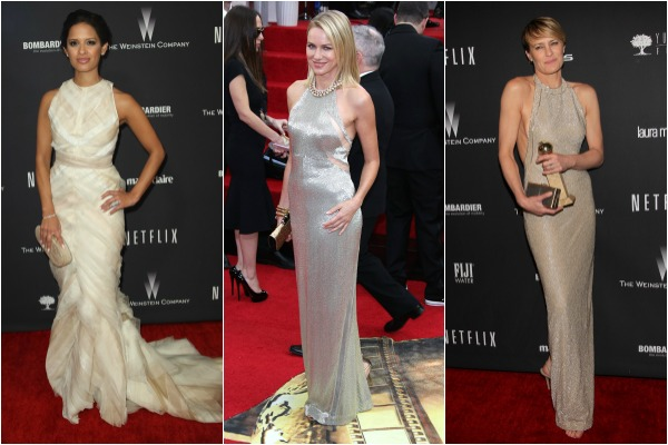 Fashion trends at the Golden Globe Awards