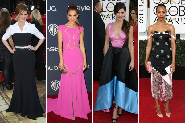 Stars who dared to be different on the red carpet at the Golden Globe Awards